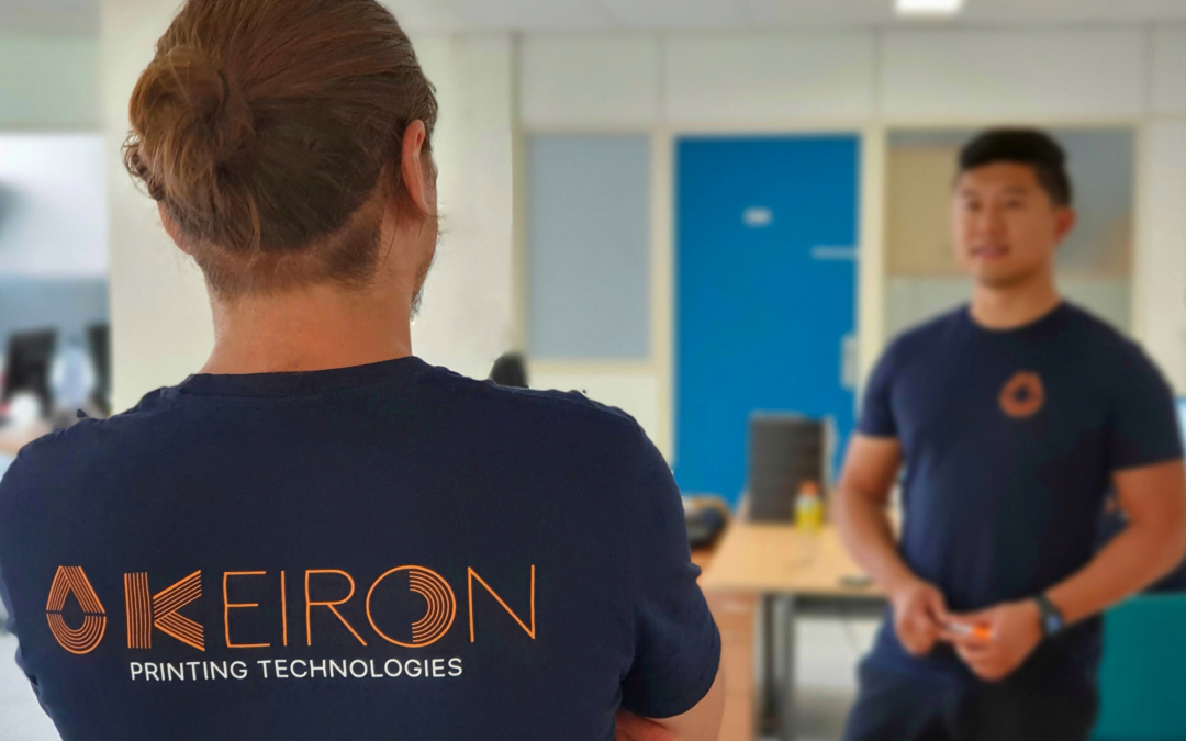 Keiron Printing Technologies secures investment from FORWARD.one to accelerate Laser-Assisted Printed Electronics